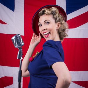 Jayne Darling Authentic 1940s Singer