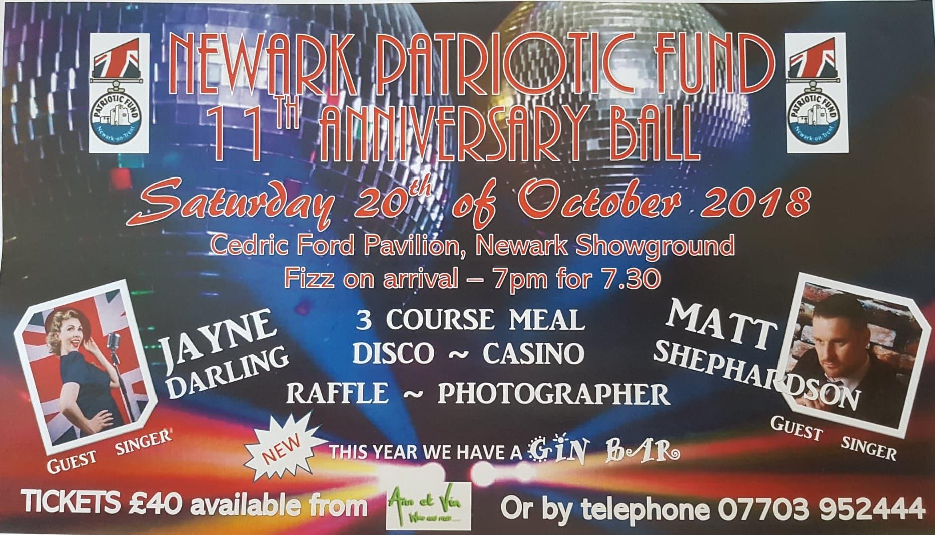 Newark Patriotic Fund 11th Anniversary Ball