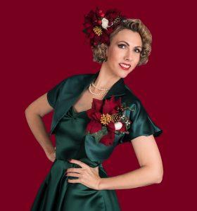Jayne Darling Vintage Christmas Singer