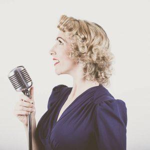 Jayne Darling 1940s Vocalist