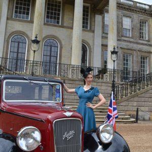 1940s Singer Jayne Darling performs at Ragley Hall