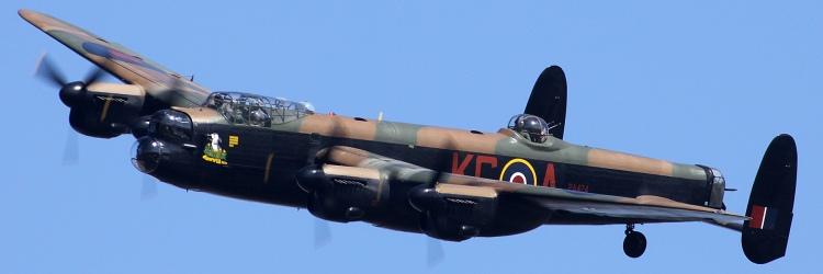 Lancaster Bomber - Gunthorpe