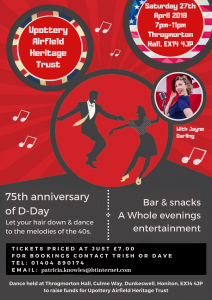 Pottery Airfield Heritage Trust D-Day Dance 2019