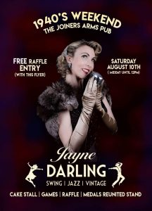 Jayne Darling | The Joiners Arms