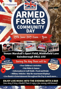 Gainsborough Armed Forces Day 2019