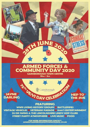 June 28 | Gainsborough Armed Forces Day