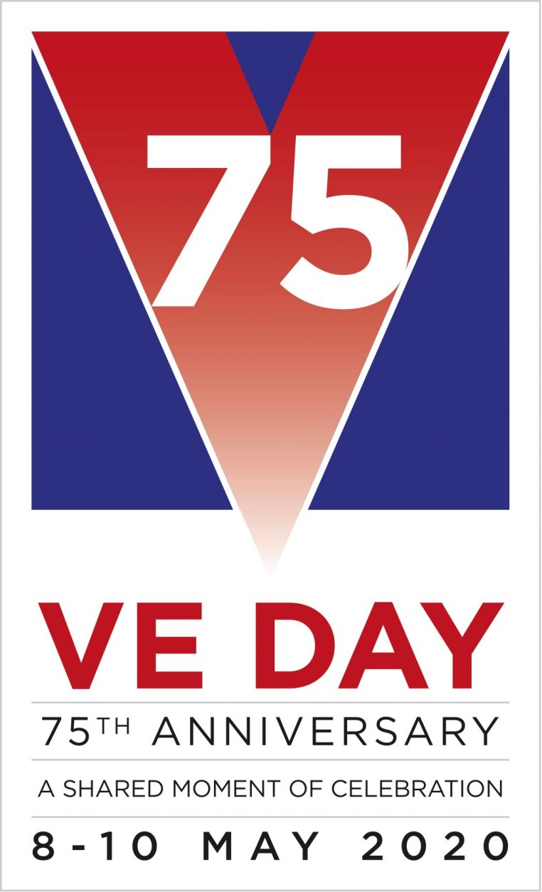 VE75 Logo Jayne Darling
